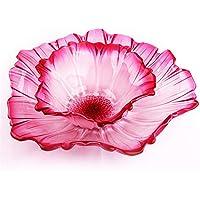 Dekorative Mitte Obstschale aus Glas - Kristallglas-Meisterwerk