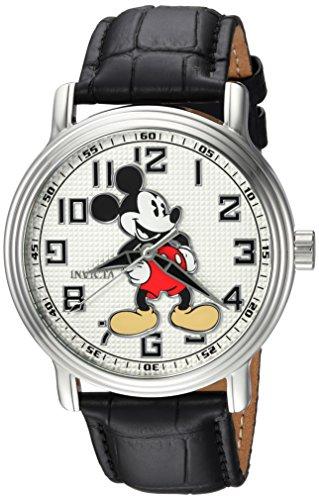 Invicta 24544 Disney Limited Edition - Mickey Mouse Reloj para Hombre acero inoxidable Cuarzo Esfera blanco