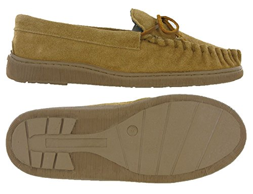 Moccasins , Chaussons homme peau