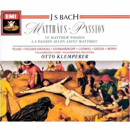 'St Matthew Passion' Bwv244 (1989 Digital Remaster), Part II: Nr.65 Rezitativ: Ja! Freilich Will In Uns Das Fleisch Und Blut (Baß/2 Flöten/Viola Da Gamba/Continuo)