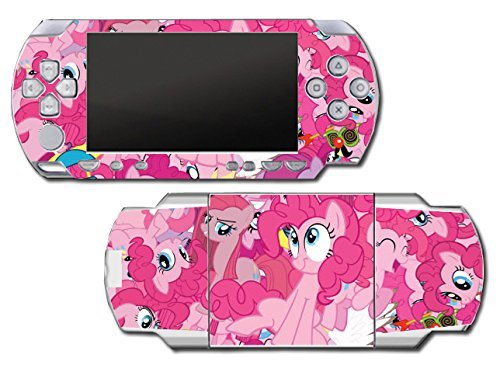 My Little Pony Friendship is Magic MLP Pinkie Pie Video Game Vinyl Decal Skin Sticker Cover for Sony PSP Playstation Portable Original Fat 1000 Series System by Vinyl Skin Designs (Pinkie Vinyl Decal Pie)