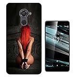 002950 - Sexy Red Hair Bondage Fantasy Design Vodafone