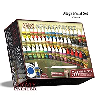 The ArmyPainter Set für Miniaturmalerei, Warpaintsmega Malerei Set 3