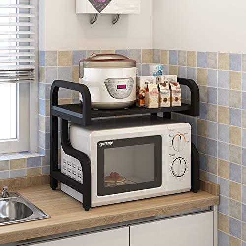 Mikrowellenherd Küchenregal 2-Fach Ofenrost,5
