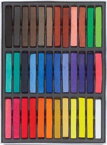 Boolavard 36 ungiftig temporären Haar Pastell Kreide Beauty Kit