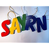 Wooden Letters - Alphabet Decor Letters - Wood Letters in any color - Price per letter