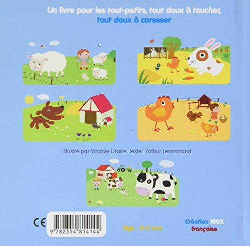 Mon tout premier livre des animaux de la ferme à toucher