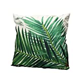 Cosanter Baumwolle Kissenbezug Throw Pillow Cover Kissen Fall Kissenbezug Dekorative 45x45cm