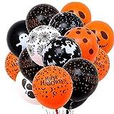 JKLYZXS 20 pièces 12 Pouces Épaissé Thème d'halloween Variétés Styles Ballons