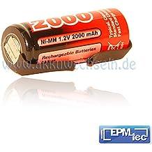 2000/2400/2800/3000mAh NiMH batería de repuesto para cepillo de dientes eléctrico OralB Triumph 4505005504000500055006500600065007000, 8000, 8300, 8500, 8900, 9000, 9400, 9500y 9900–Batería battery Replacement Service