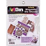 Unbekannt Artbin 6979AB Magnetische Färbeblätter, 3Stück