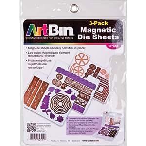 Artbin 6979AB Magnetic Die Sheets, Pack of 3