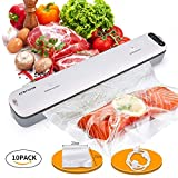 Crenova V62 Vacuum Sealer Food Saver Machine with Starter Kit