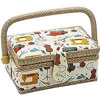 Boîte à couture, D & D Kit de couture pour la maison et les voyages–Petit S orange