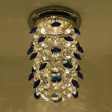 Luces de Techo Cristal / LED / Mini Estilo 1 pieza , blue
