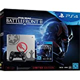 PS4: PlayStation 4 - Konsole (1TB, schwarz) im Limited Star Wars Battlefront 2 Design inkl. Star Wars Battlefront II Elite Trooper Deluxe Edition (exkl. bei Amazon.de)