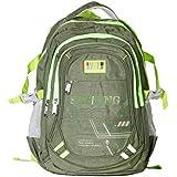 Good Win Stylish Laptop Backpack-0998232-Green