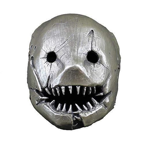 LIHAOTIAN Metzgermaske Cos Dawn Killer Halloween Erstaunliche Kopfbedeckung (Zombie Dawn Kind Kostüm)