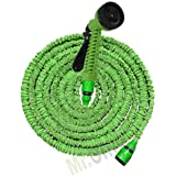 Canna dell'acqua avvolgibile Magic Hose, indispensabile pompa flessibile allungabile 45 metri completo di pistola idropulitrice, che viene utilizzato per innaffiare o irrigare le piante e il prato del tuo giardino
