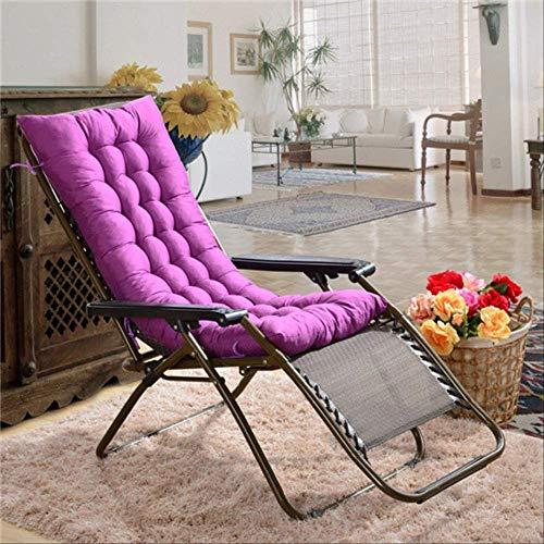 AINIYUE Sitzkissen für Zuhause, weiche Home Office Matte, Lange Stuhlpolster, 3D Warm Deck Sling Stuhl Gesäßkissen, Geschenk für Eltern 40 * 120cm lila-1 -