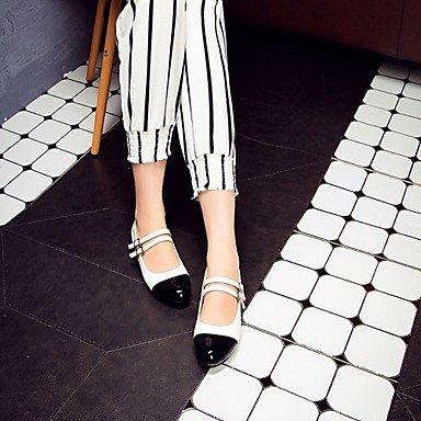 Confortevole ed elegante piatto scarpe donna tacchi Primavera Estate Autunno Inverno Comfort Novità sintetico PU Ufficio Matrimoni & Carriera Party & abito da sera Casual Stiletto Heel White