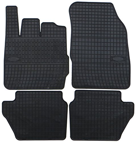Preisvergleich Produktbild TN-Profimatten Gummifussmatten Auto-Fußmatten Passform GFO0000306B