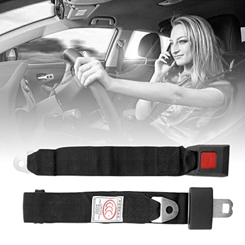 Bubbry Autositz-Sicherheitsgurtverlängerung, 35 cm Länger, Gurtverlängerungsschnalle
