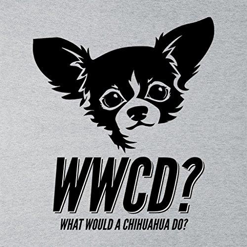What Would A Chihuahua Do Women's Sweatshirt Heather Grey