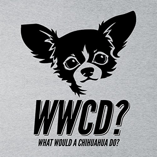 What Would A Chihuahua Do Womens Sweatshirt Heather Grey