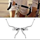 D DOLITY 1 Paar Aluminiumlegierung Paar Bremshebel Rennrad Lenker Fahrrad Bremsgriffe Bremsen