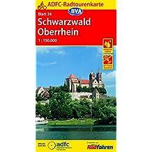 ADFC-Radtourenkarte 24 Schwarzwald Oberrhein 1:150.000, reiß- und wetterfest, GPS-Tracks Download (ADFC-Radtourenkarte 1:150000)
