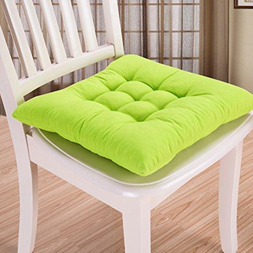 Cuscino per sedia, 9 colori, lavabile, per sala da pranzo, giardino ...