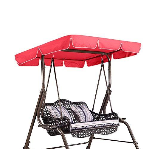 Swing Chair Seat-Ersatzüberdachung, für Swing Seat 2 & 3-Sitzer-Größen Hängemattenbezug Top...