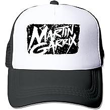 trithaer Martin garrix S logo Trucker Mesh Cap Black, color negro, tamaño Talla única