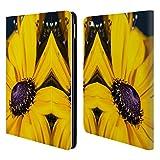 Head Case Designs Offizielle PLdesign Gaensebluemchen Blumen Und Blaetter Brieftasche Handyhülle aus Leder für iPad Air 2 (2014)