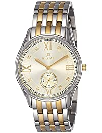 Westar Analog Off-White Dial Men's Watch-5801CBN102