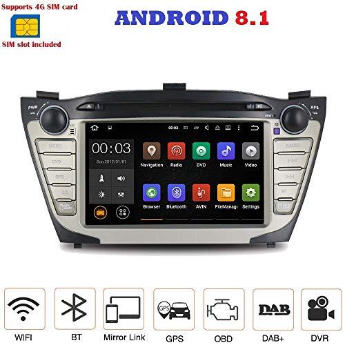 ANDROID 7.1 4G LTE GPS DVD USB SD WI-FI autoradio