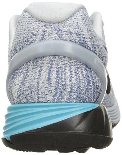 Nike Damen Lunarglide 7 Laufschuhe Plateado (Pr Platinum / Blk-Gmm Bl-Ocn Fg)