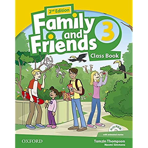Family & Friends 3. Class Book Pack - 2nd Edition (Family & Friends Second Edition)