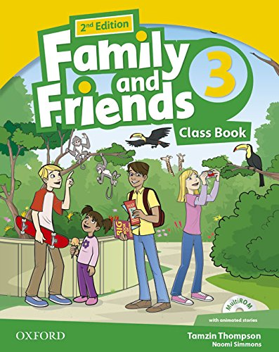 Family & Friends 3 Class Book Pack - 2nd Edition (Family & Friends Second Edition)