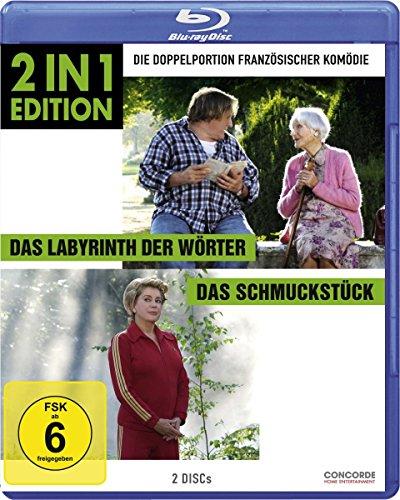 Das Labyrinth der Wörter/Das Schmuckstück (2 in 1 Edition) [Blu-ray]