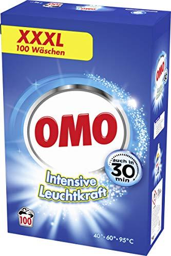 Omo Pulver Vollwaschmittel 100 WL, 7000 g - Frische Wäsche Waschmittel