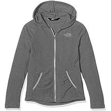 The North Face Mezzaluna–Chaqueta con capucha para mujer, Mujer, color Mid Grey, tamaño medium
