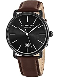 Stuhrling Original Classic Analog Black Dial Men's Watch - 768.03