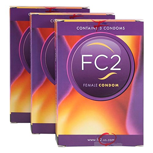 Original Femidom FC2 Frauen Kondome - 3x 3 Stück Kartonverpackung