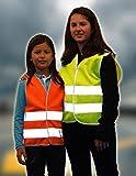 Reflektierende Warnweste für Kinder 3 - 12 Jahre