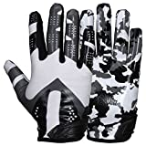 Prostyle Sniper American Football Receiver Handschuhe - weiß Gr. L