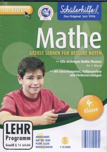 Tandem Schülerhilfe ! Gezielt lernen für bessere Noten - Alle wichtigen Mathe-Themen der 4. Klasse [CD-ROM]
