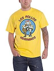 Plastic Head - T-shirt -  - Imprimé - Manches courtes Homme Jaune Jaune