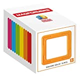 Unbekannt Magformers 713021Zubehörs Box aus massivem Farbe Quadrate (12-teilig)